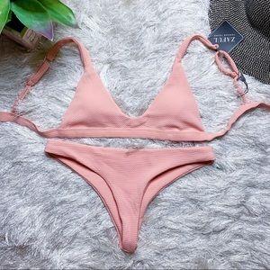 NWT Zaful Scoop Neck Bikini